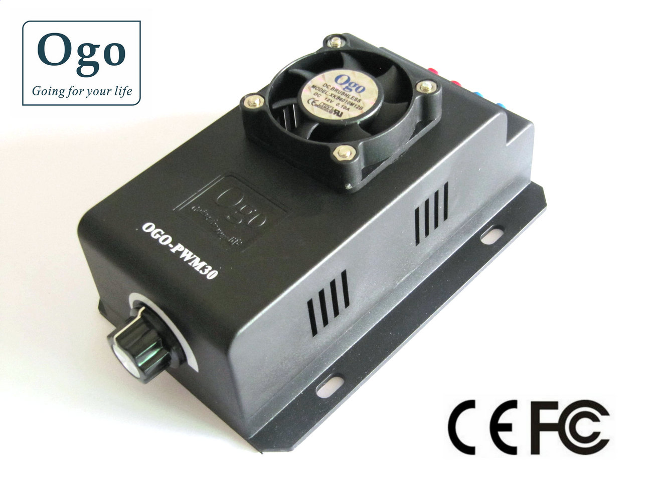 Ogo professional smart pwm with open setting function 30a.