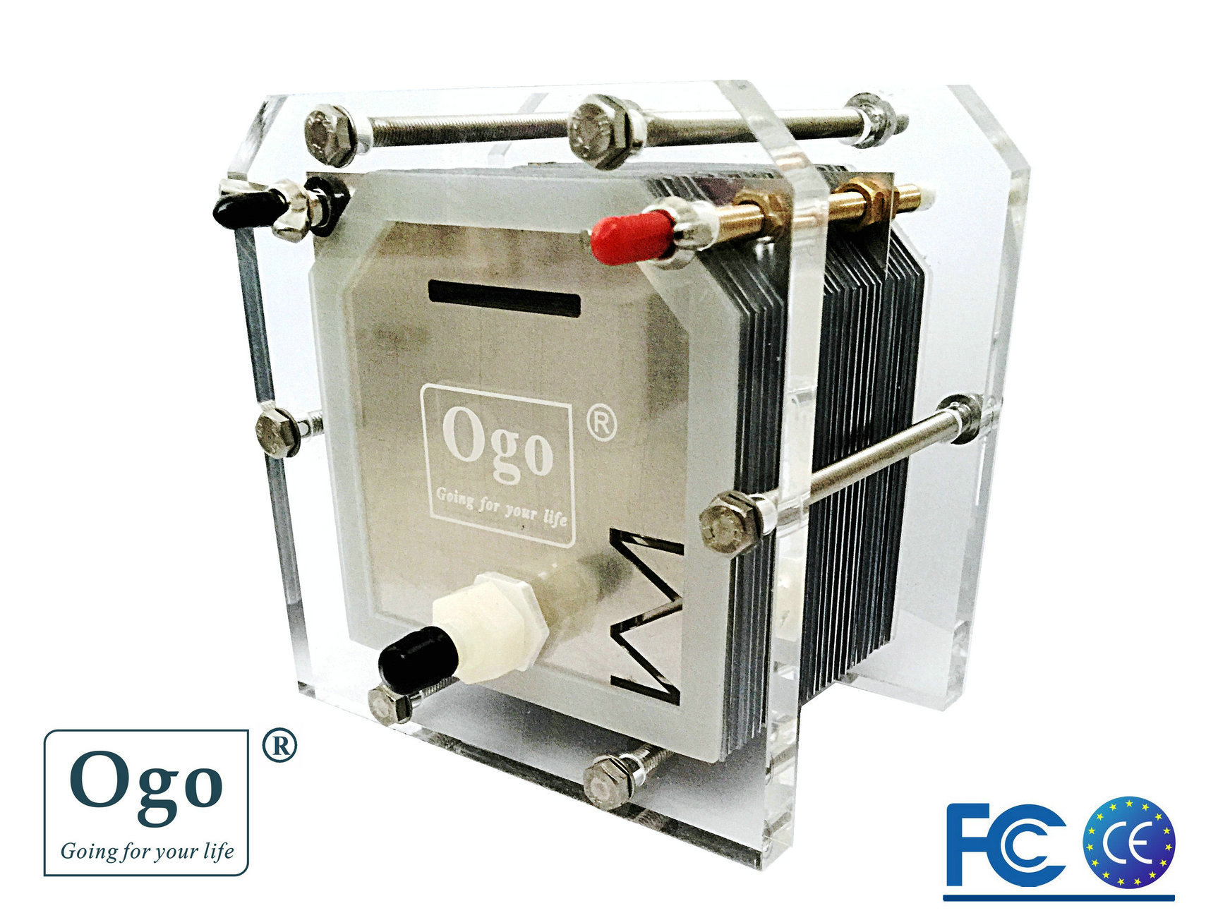 New OGO HHO 25plates Cell more efficiency